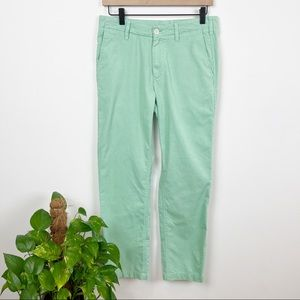 Bonobos Slim Straight Mint Green Dress Pants